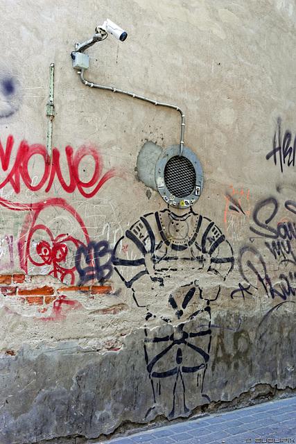 Street Art in Tartu (© Buelipix)