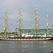 Die Kruzenshtern in Kiel zur Kieler Woche