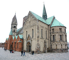 Denmark, The Cathedral in Ribe (view from the south-east)