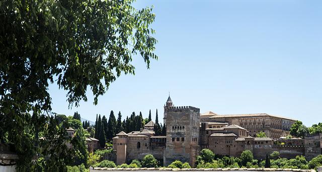 ...desde un carmen del Albaicín de Granada