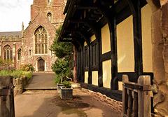 Dunster Church & Cottage.