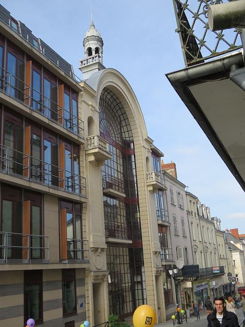 Laval, rue des Déportés.