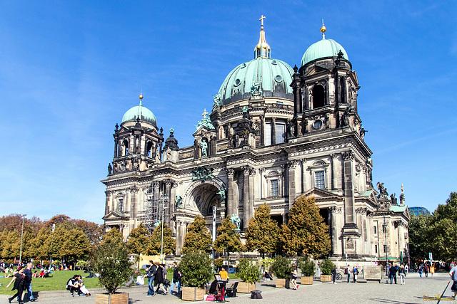Berliner Dom - zwei Ansichten (PiP)