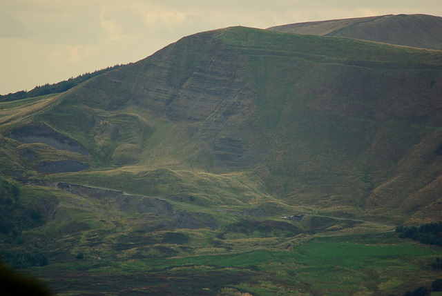 Mam Tor - through the haze