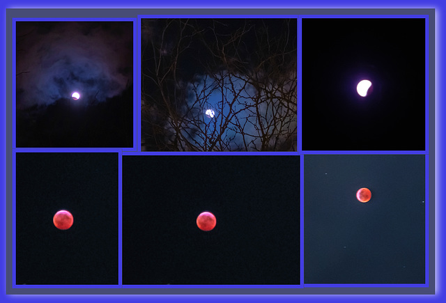 Super Blood Wolf, Lunar Eclipse 2019