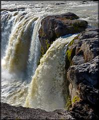 Islanda - Godafoss waterfall - (520)
