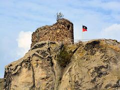 Der Bergfried auf Burg Regenstein