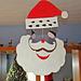 Felt Santa mobile