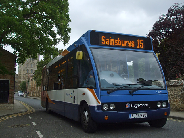 DSCF7517 Stagecoach Cambus 47659 (AJ58 RBO) in Ely - 5 Jun 2017
