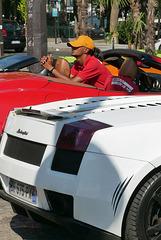 Lamborghini et Ferrari à louer avec chauffeur