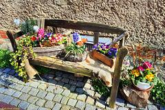 Happy Bench Monday! --- Osterbank