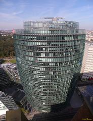 "Konzernzentrale der DB am Potsdamer Platz (""BahnTower"")"