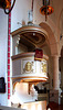 LV - Riga - Pulpit at St. John's Church