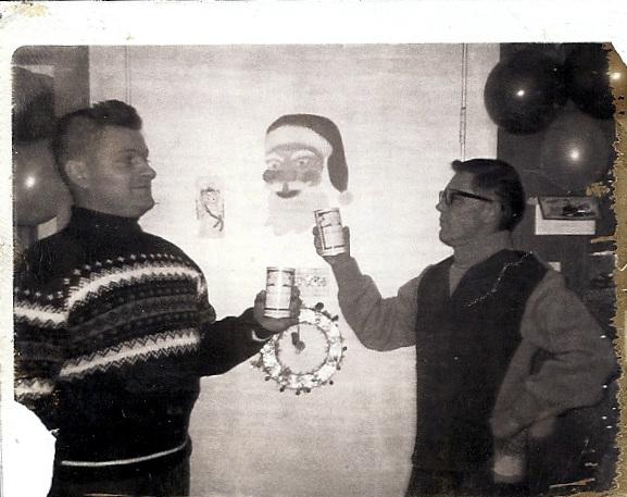Christmas Budweiser Toast