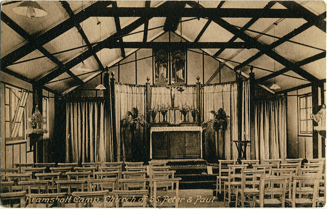 6142. Bramshott Camp, Church of SS. Peter & Paul.