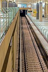 Nutzloser Bahnsteig