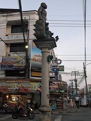 Statue de feux