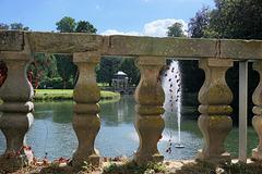 Durchblick zum Schlosspark