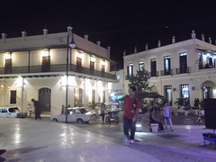 Cuban scenery by the night