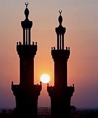 Sunset in Port Said - (816)