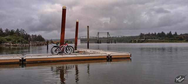 Pictures for Pam, Day 196: Bikes at Bullard's Bay Dock