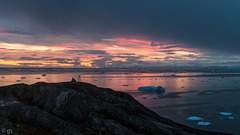 Sunset over Disko Bay