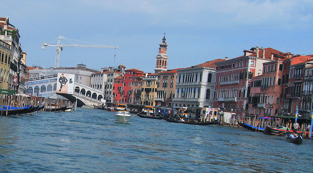 In Venice there is always something to be restored