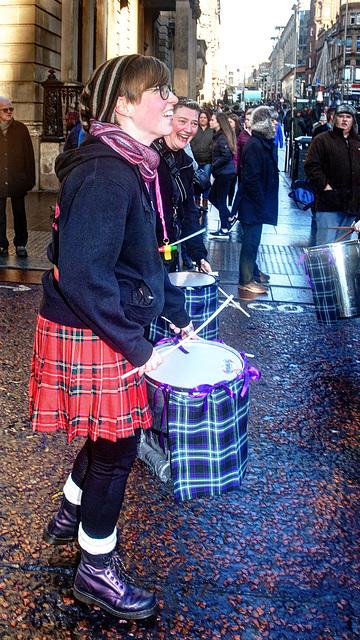 Anti-Racism March, Glasgow