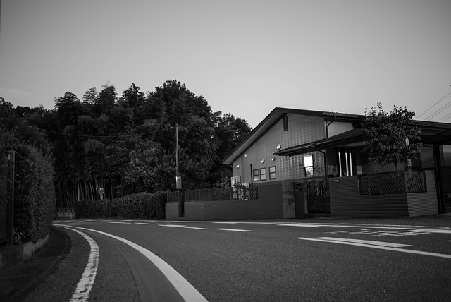 House on the bend