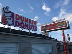 Dunkin Donuts & Coca-cola