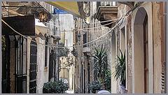 Calle a Ortigia. Siracusa