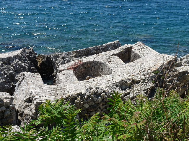 Herceg Novi- Remains of Forte Mare