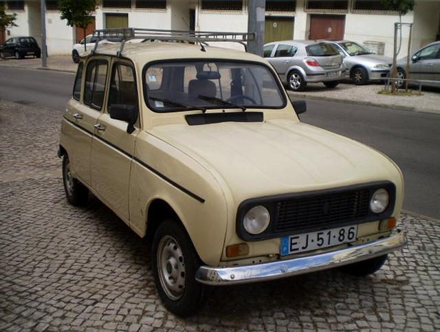 Renault 4 - 1984.