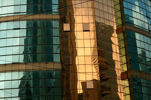 Reflets d'or et de lumière