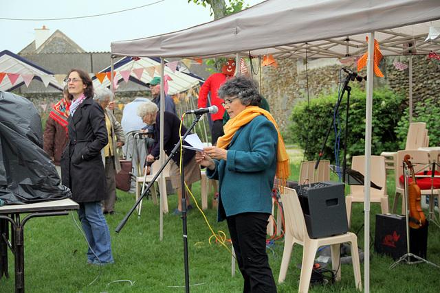 Fête des habitants - 05/06/2016 - Discours et apéritif
