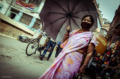 Barbijos en Nepal