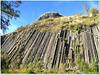 Basaltic organ pipes