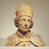 Bust of a Bishop Saint in the Princeton University Art Museum, April 2017