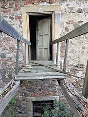 Eingang Nummer sieben zum Schloss Wernigerode.