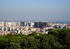 Lisbon,  between  Forest Park and the Tagus River