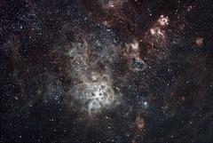 Close up of Tarantula Nebula NGC2070