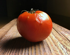When a Tomato Sits on the shelf too long...