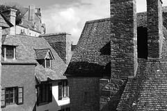 The Rooftops of Mont Saint Michel (xv)