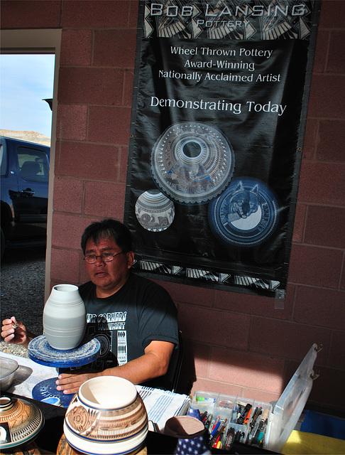 Four Corners - Bob Lansing, Navajo Artist