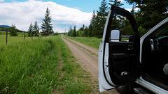 "Old Cariboo Highway - ""Church Road"""