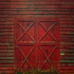 no parking at the barn door