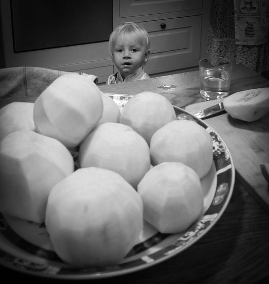 the turnips...