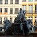 fontaine de la Place des Terreaux a Lyon.