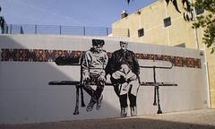 Mural by Bigod.