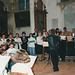 Concert ateliers de musique du CCRB à l'église de Blandy-les-Tours le 28/06/1991